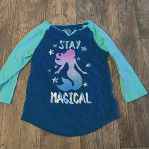 SO Mermaid long sleeve blouse